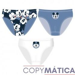 Set 3 slips Mickey