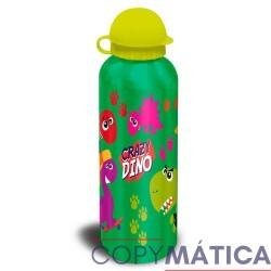 Botella Aluminio Crazy Dino...