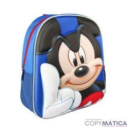 Mochila 3D Mickey Mouse 31cm