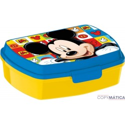 Sandwichera Mickey Mouse