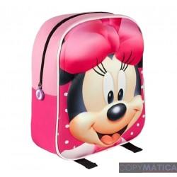 Mochila 3D Minnie Mouse 31cm