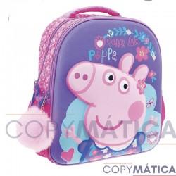MOCHILA PEPPA PIG DE POMPOM...