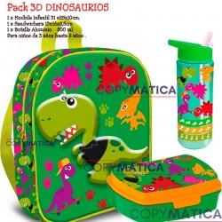 PACK CRAZY DINO MOCHILA 3D...