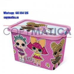 Lol Surprise Caja 7 litros