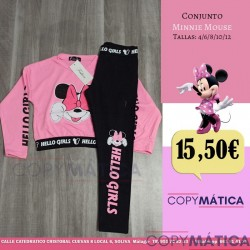 Conjunto Minnie Mouse....