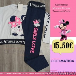 Conjunto Minnie Mouse...