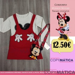 Conjunto Minnie Mouse Super...