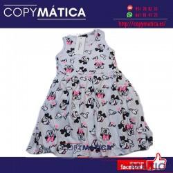 Vestido de Minnie Mouse...