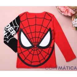 Camiseta de Spiderman...