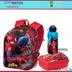 Pack Mochila Spiderman +...