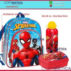 Pack de Mochila Spiderman...