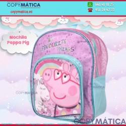 MOCHILA PEPPA PIG GLITTER...