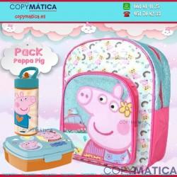 PACK PEPPA PIG MOCHILA +...