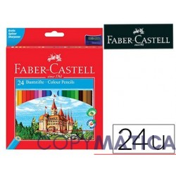 FABER CASTELL 24 COLORES