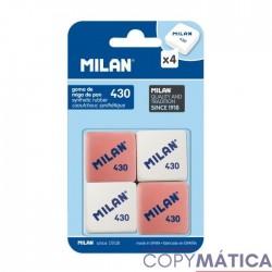 Blíster 4 gomas Milan 430