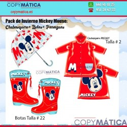 Pack de lluvia Mickey Mouse...