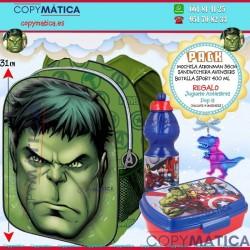 Pack Mochila Hulk + Botella...