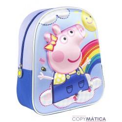 Mochila Peppa Pig 3D...