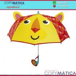 Paraguas manual Leon...