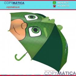 Paraguas PJ Masks 3D