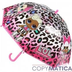 Paraguas Leopardo Lol surprise