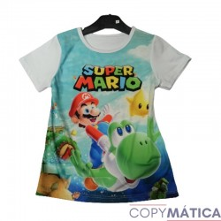 Super Mario Camiseta de...