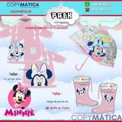 Chubasquero Minnie Disney...