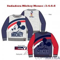 Sudadera Mickey Mouse.  Es...