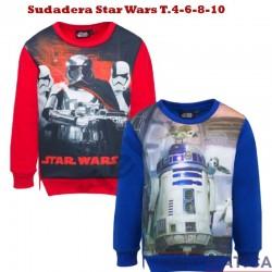 Sudadera Star Wars T.4-6-8-10
