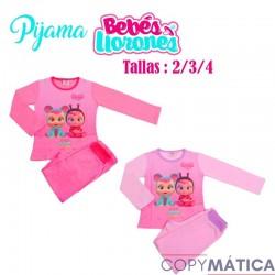 Pijama algodón bebes...