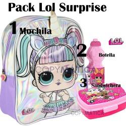 Pack -Mochila LOL Surprise...