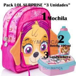 Pack MOCHILA SKYE 3D 31 CM+...