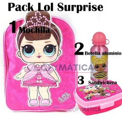 Mochila Lol Surprise Pack...