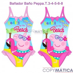Bañador Baño Peppa Pig....