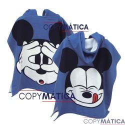 Poncho Mickey Disney...