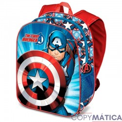 Mochila 3D Capitan America...